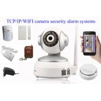 Cheap Wireless WiFi IP Camera Alarm System Home Guard Defence Area HD IP Camera for sale