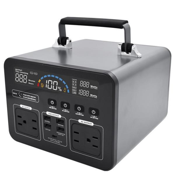 Cheap Vehicle Grade Portable 500W 135200mAh Camping Power Bank for sale