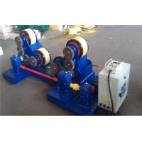 Best 5T - 60T Pipe Welding self - aligning Rotator with rubber rollers , tank turning rolls wholesale
