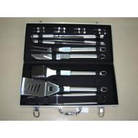 Best 18pcs stainless steel handle BBQ tools in a case wholesale