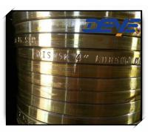 China Cast Steel flanges JIS 10K Golden Yellow Paint on sale