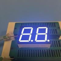 China White 0.8 Dual Digit 7 Segment LED Display Common Anode For Instrument Panel on sale
