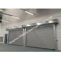 China Fire Rated Customized Rolling Shutter Door Exterior Dustproof Roll Up Door For Industry on sale