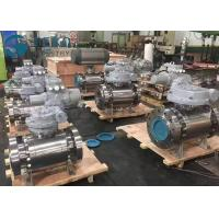 Best High Pressure Fixed Ball Trunnion Mounted Ball Valve With Worm Gear Operation wholesale