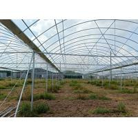 Best Greenhouse Round ERW Steel Pipe , Hot Dip Galvanized Steel Pipe Good Reliability wholesale