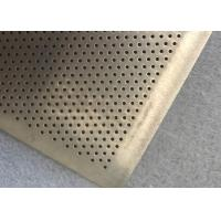 China Round Hole High Tension Fine Wire Mesh Filter Plate For Filter Oil on sale