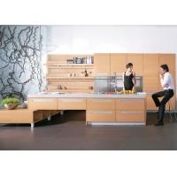304ss Countertops Unassembled Pvc Kitchen Furniture / Cupboards , Integrated Kitchen Cabinets