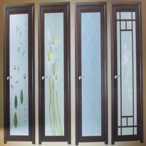 Best No deformation custom size white powder coated aluminum hinged doors for balcony wholesale
