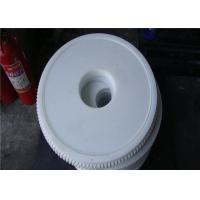 China oil and grease resistant PA6 mould injection plastic gears white color on sale
