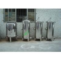 Best High Pressure Water Filter Housing , Single Bag Stainless Steel Filter Housing wholesale
