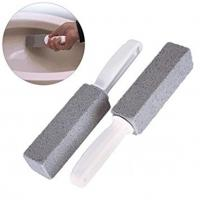 China Pumice Cleaning Stone with Handle, Toilet Toilet Bowl Ring Pumice Stick Deep Stains Rust Hard Water Ring Remover on sale