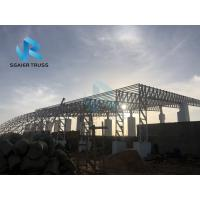 China Outdoor Pre Engineered Structure , Large Roof Prefabricated Steel House on sale