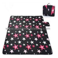 Buy cheap Portable Picnic Mat Outdoor Leisure Popular Fashion Blanket Black Blue from wholesalers