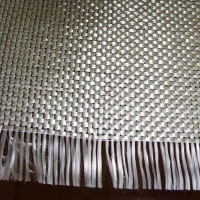 China White color and high tensile different width E-glass fiber woven roving for composite on sale