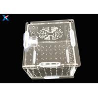 Best Aquarium Acrylic Modern Furniture / Clear Acrylic Isolation Box For Baby Fish wholesale