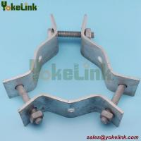 Best High quality galvanized electric pole clamp/pole band for overhead line fittings wholesale