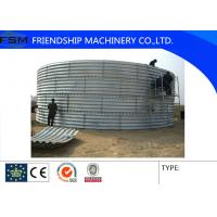 China Cold Rolled Steel Silo Forming Machine , Corrugated Sheet Warehouse Machine on sale