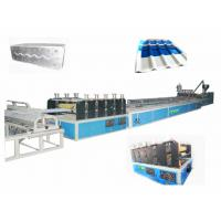 China PVC Corrugated Roofing Sheets Making Machine For Twin-Wall Hollow Roofing Sheet on sale