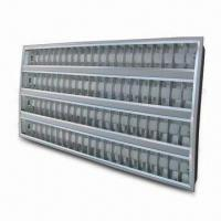 China T5/T8 Fluorescent Louver Lighting with 220 to 240V Voltage and 50/60Hz Frequency on sale