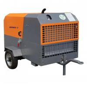 China 2m3/min 7 bar Yangdong engine Diesel Screw Air Compressor Portable Diesel Engine Driven Air Compressor on sale