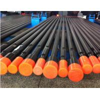 China Bench Drilling Steel Drill Rod ,  R38 / T38 / T45 Drilling Mining Machinery Parts on sale