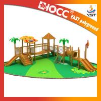 Best Large Kids Wooden Outdoor Play Equipment 25 - 30 Persons Capacity Service wholesale