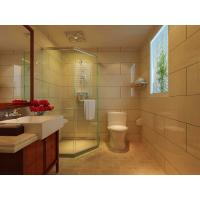 Best 3mm - 19mm Coated Bathroom Shower Glass Panel , Low Iron , Crystal Clear , 3660mmx15000mm wholesale