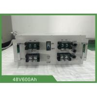 Best Topband 30.72KWh 48V 600Ah Electric Forklift Battery With CAN Communication And LCD wholesale