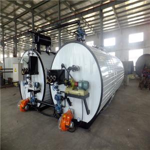 China White Bitumen Machine Hot Exhaust Heating / Inner Thermal Oil Coils Heating on sale