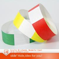 Buy cheap Tyvek wristbands from wholesalers