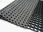 China Wet Areas Anti-slip Rubber Mat , Interlock rubber mat on sale