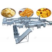 Best Commercial Potato Chips Manufacturing Machine Frozen French Fries With Flow Production wholesale