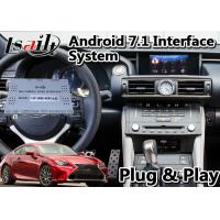 China Wireless Carplay Navigation Video Interface For Lexus RC350 Mouse Control 15-18 Model on sale