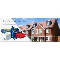 China double roofing sheets forming machine on sale