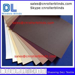 Best Plain Blackout Roller Blinds with match color wholesale