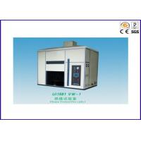 China Electric Wire Flame Test Chamber , Flame Test Apparatus For Finished Wire / Cord on sale