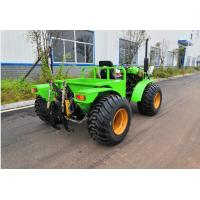China Light weight All Terrain tractor Four Wheel Drive With PTO 35HP floatation Tyres on sale