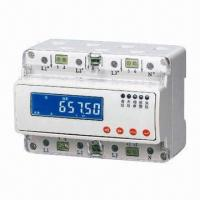 Buy cheap Three-phase Guide Rail Power Meter from wholesalers
