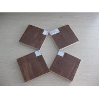 China Dark Brown / Red waterproof paint plywood / film faced plywood sheet for Construction Formwork wholesale