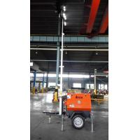 Best New!!! 7m 4*250W Mobile LED Light Tower GTLT I7L1000 with Kubota Engine Electrical Operation wholesale