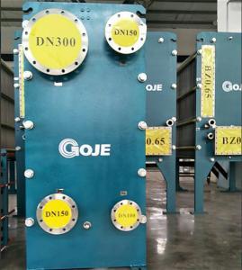 Best Unit Water Cooled Plate Heat Exchanger Dismountable Heavy Calibre Techbologie wholesale