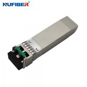 Best 10G SFP+ Cwdm Transceiver Single Mode 40km 1270nm 1610nm wholesale