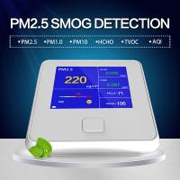 Best Know What's in the Air You Breathe - Air Quality Monitor Formaldehyde(HCHO) Monitor with PM2.5/PM10/TVOC Test USA wholesale
