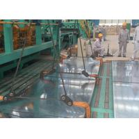 Best Anti Corrosion Zinc Coated Sheet Metal , Corrugated Galvanized Plate Steel wholesale