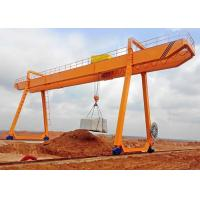 Best 10 Ton Double Girder Construction Electric Gantry Crane With Trolley wholesale