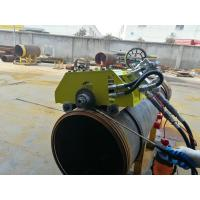 Best Hydraulic Bevel Cutting Machine For Pipes , 12 Inch Pipe Cutter And Beveler wholesale