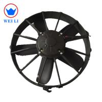 Buy cheap Auto Cooling  Condenser Fan Motor 12 Volt 100Pa Static Pressure from wholesalers