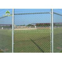 Best Pvc Coated Galvanized Chain Link Fencing For Wrights / Landscaping wholesale
