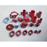 China FM/UL approved ductile iron grooved fittings on sale