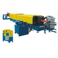 China Industrial Downspout Roll Forming Machine With Hydraulic Pipe Bending Machine on sale